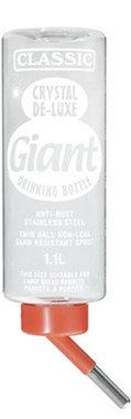 Classic - Drinkfles Giant voor Grote Konijnen 1000 ml