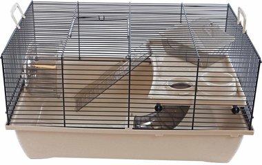Interzoo Hamsterkooi Pinky 1 Beige