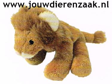 Hondenspeelgoed Pluche Mini Leeuw 14 Cm