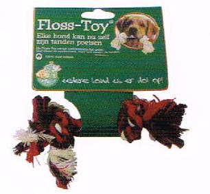 Hondenspeelgoed Floss-Toy Gekleurd Mini