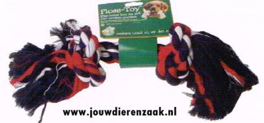 Hondenspeelgoed Floss-Toy Gekleurd Groot