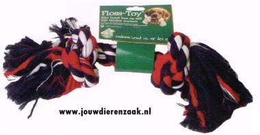 Hondenspeelgoed Floss-Toy Gekleurd Gigant