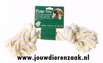 Hondenspeelgoed Floss-Toy Wit Gigant