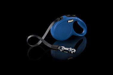 Flexi Rollijn Classic Tape XS Blauw