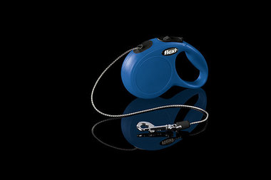 Flexi Rollijn Classic Cord XS Blauw