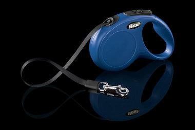 Flexi Rollijn Classic Tape M-L Blauw
