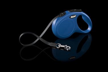 Flexi Rollijn Classic Tape S Blauw