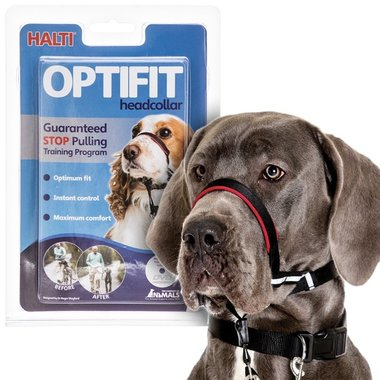 Halti Optifit Large Zwart