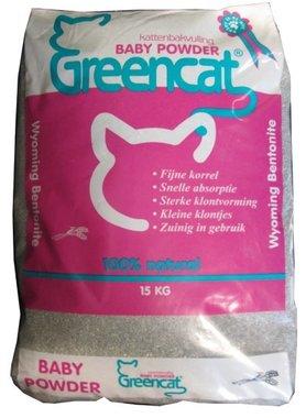 greencat klontvormend met baby powder 15kg