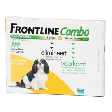 Frontline Combo - Frontine Combo Hond S 3 Pipetten