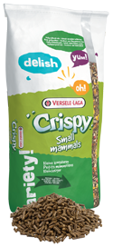 Versele-Laga Crispy Pellets Chinchillas & Degus 25 Kg