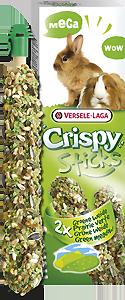 Versele-Laga Crispy Mega Sticks Konijnen-Cavias Weide 2 X 70 Gram