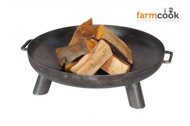 Farmcook Pan 37 firebowl 60/ 70 /80 cm unpainted