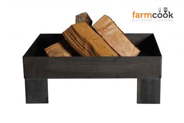 Farmcook Pan 6 firebowl 60/ 70 /80 cm unpainted