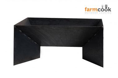 Farmcook Pan 2 firebowl 60/ 70 /80 cm unpainted