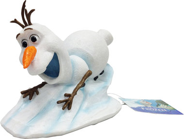 Penn Plax Frozen Ornament Olaf Slidingdown