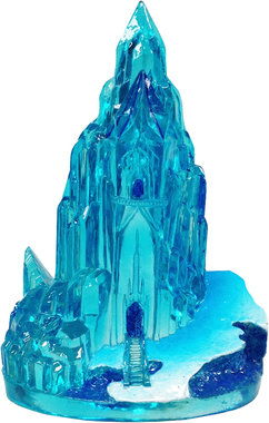 Penn Plax Frozen Ornament Ice Castle