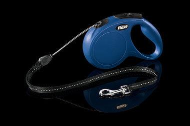 Flexi Rollijn Classic Cord M 5 Meter Blauw