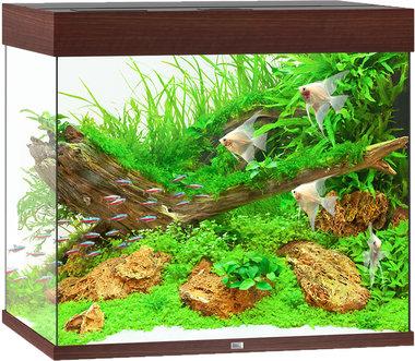Juwel Aquarium Lido 200 LED Donkerbruin 70x51x65 cm