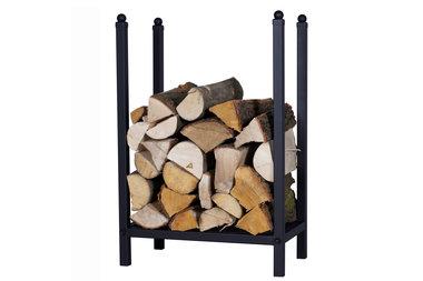 Magnus Firewood Racks R127A black 55x20X80cm