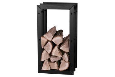 Magnus Firewood Racks R125A black 45x20X85cm
