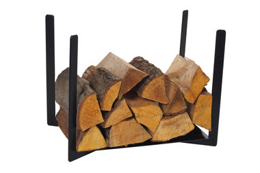 Magnus Firewood Racks R116 black 50x33X40cm