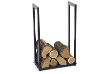 Magnus Firewood Racks R111C black 50x25x150cm