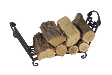 Magnus Firewood basket K10 Black 80x24x42 cm