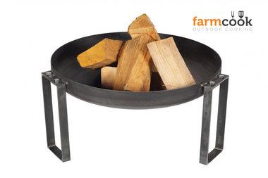 Farmcook Pan 36 firebowl 60/ 70 /80 cm unpainted