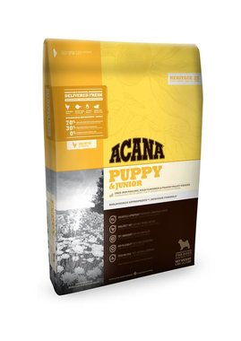 Acana Heritage Puppy & Junior 6 kg.