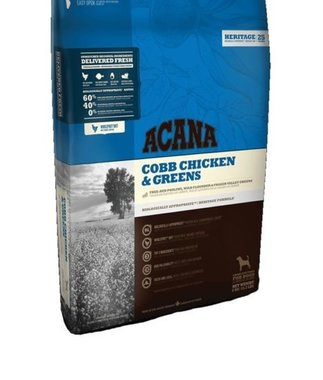Acana Heritage Cobb Chicken & Greens 11.4 kg.