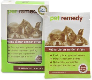 Pet Remedy kalmerende doekjes 12st