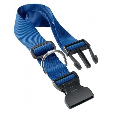 Ferplast - Nylon Halsband Club Blauw 23-32 10mm