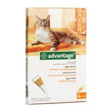 Advantage Kat 40 4 Pipetten