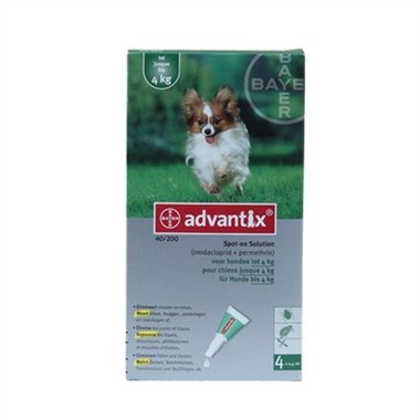 Advantix - Advantix 40 4 Pipetten