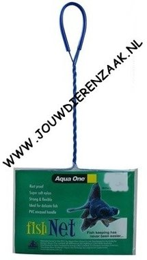 Aqua One - Vis Schepnet Grof Mazig 7,5x6,5 cm