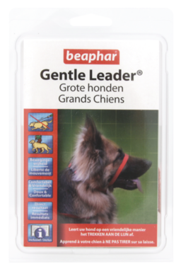 Gentle Leader Grote Honden Rood