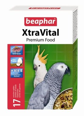 Beaphar Xtra Vital Papegaaienvoer 1 KG