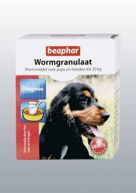 Beaphar Wormgranulaat Hond 3x 3g