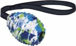 nobby rubberen speelgoedbal met antislipkabel