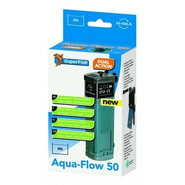 SuperFish - Aqua-Flow 50 Filter 100l/h