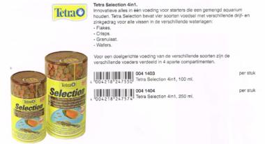 Tetra Selection 4in1 250 ML