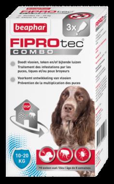 Beaphar Fiprotec combo hond 10-20 kg
