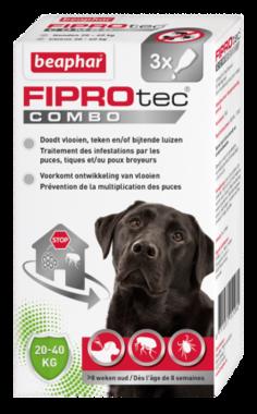 Beaphar Fiprotec combo hond 20-40 kg