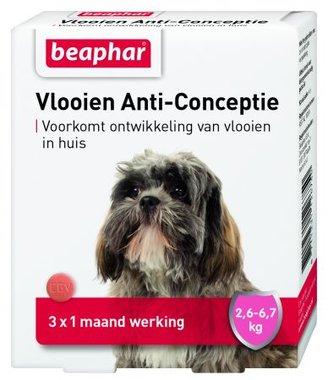 Beaphar Vlooien Anti-Conceptie Kleine Hond (2.6-6.7kg)