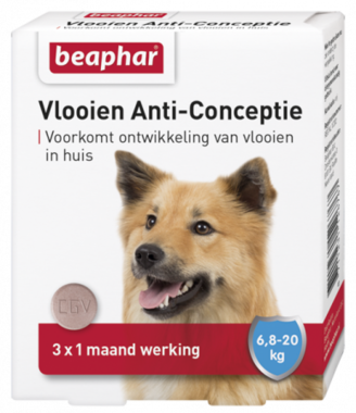 Beaphar Vlooien Anti-Conceptie Middel Grote Hond (6,7-20kg)