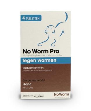 No Worm Pro 4 tabletten vanaf 5 kg