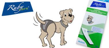 Rubycare Hondenverband Maat L 10 Stuks