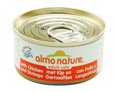 Almo Nature - Almo Nature Kip met Garnaaltjes