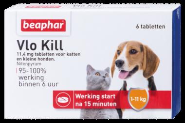 Beaphar Vlo Kill+ Kat & Hond tot 11 Kg